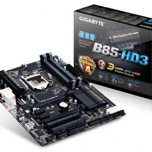 GIGABYTE B85-HD3 DDR3 SES VGA GLAN 16X