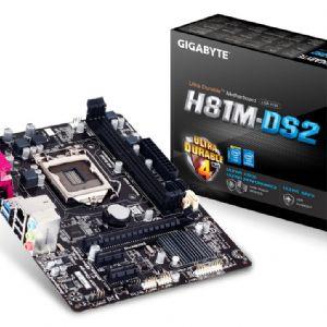 GIGABYTE H81M-DS2 DDR3 SES VGA GLAN 16X