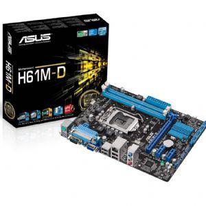 ASUS H61M-D H61 DDR3 MATX VGA SATA2 USB2 ANAKART