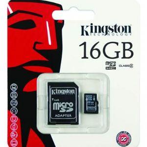 16GB MICRO SD KART BELLEK SDC4/16GB KINGSTON