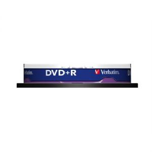 VERBATIM 43498 DVD+R AZO 4,7GB  16X 10 LU CAKEBOX