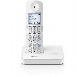PHILIPS D4001W/38 DECT TELEFON BEYAZ