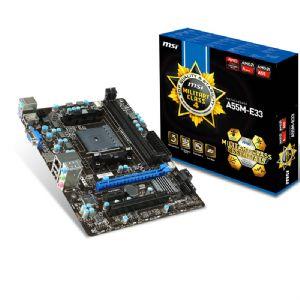 MSI A55M-E33 FM2+ DDR3 MATX VGA HDMI GLAN SATA2 USB2.0