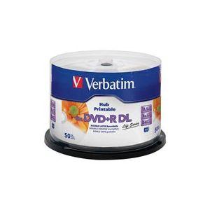 VERBATIM 97693  DVD+R DOUBLE LAYER 8.5GB 8X 50 LI SPINDLE