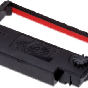 EPSON C43S015376  ERC-38BR, BLACK&RED RIBBON