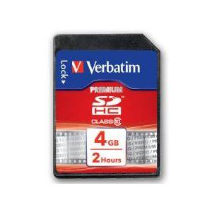 VERBATIM 43960 SDHC 4GB CLASS-10 SD KART