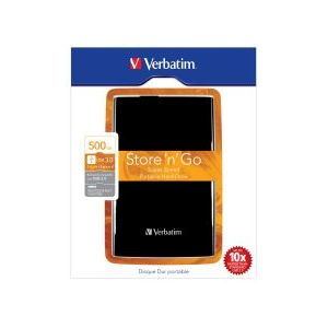 VERBATIM 53029 2,5 INCH 500GB USB3.0 EXTERNAL/HARICI HARDDISK