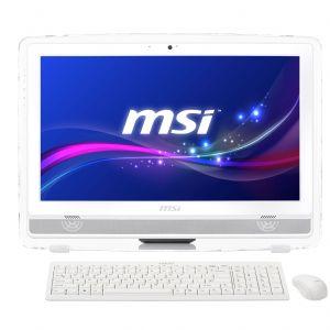 MSI AIO 21.5 AE222G-061XTR İ5-4440S 4G 1TB GT740M 2G DOS Dokunmatik LED Beyaz